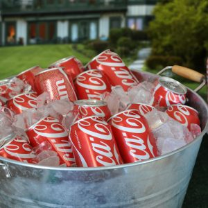 Coca-Cola Table for Party